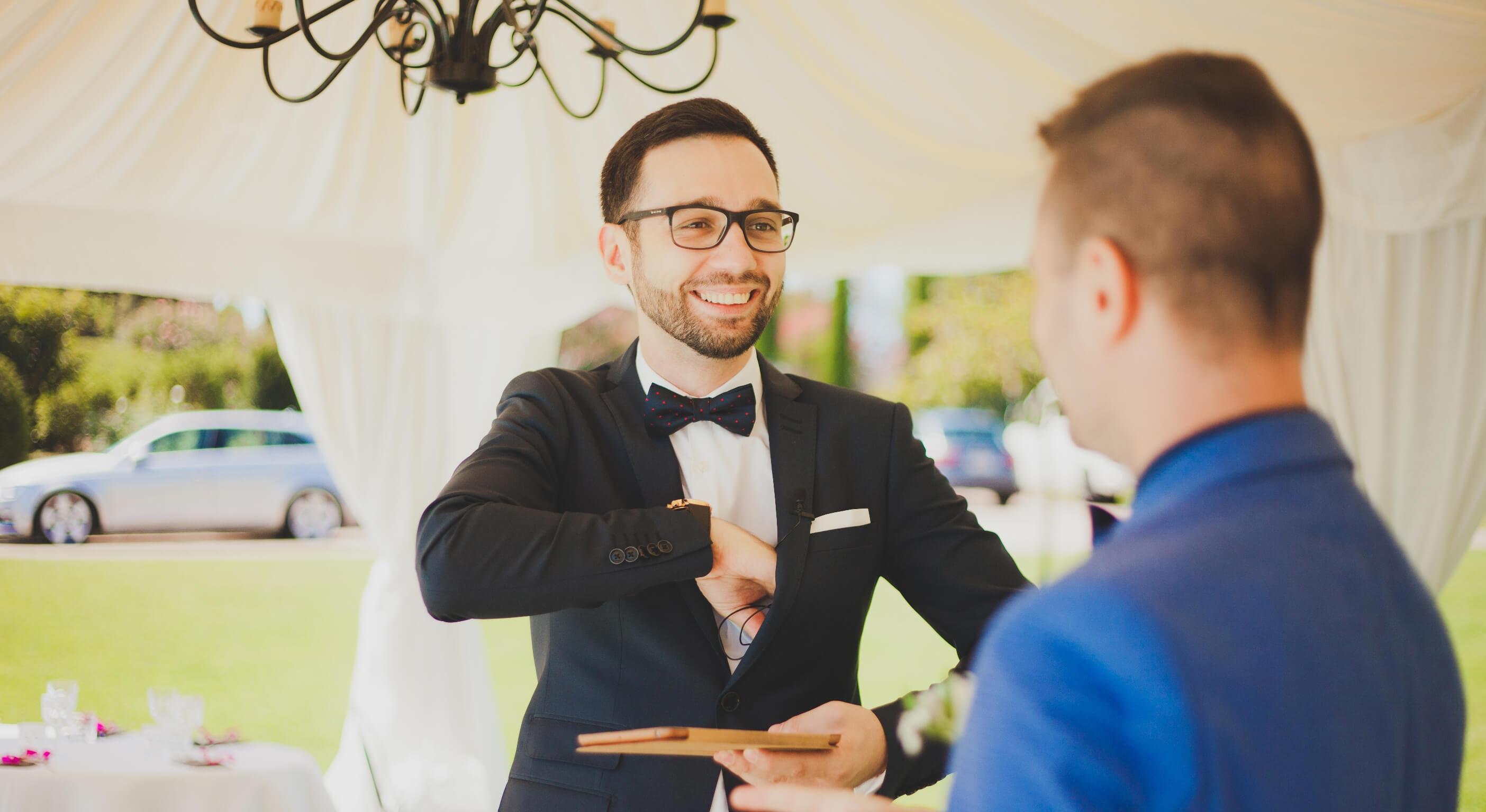 Какие вопросы нужно задать ведущему на свадьбу. Часть 1