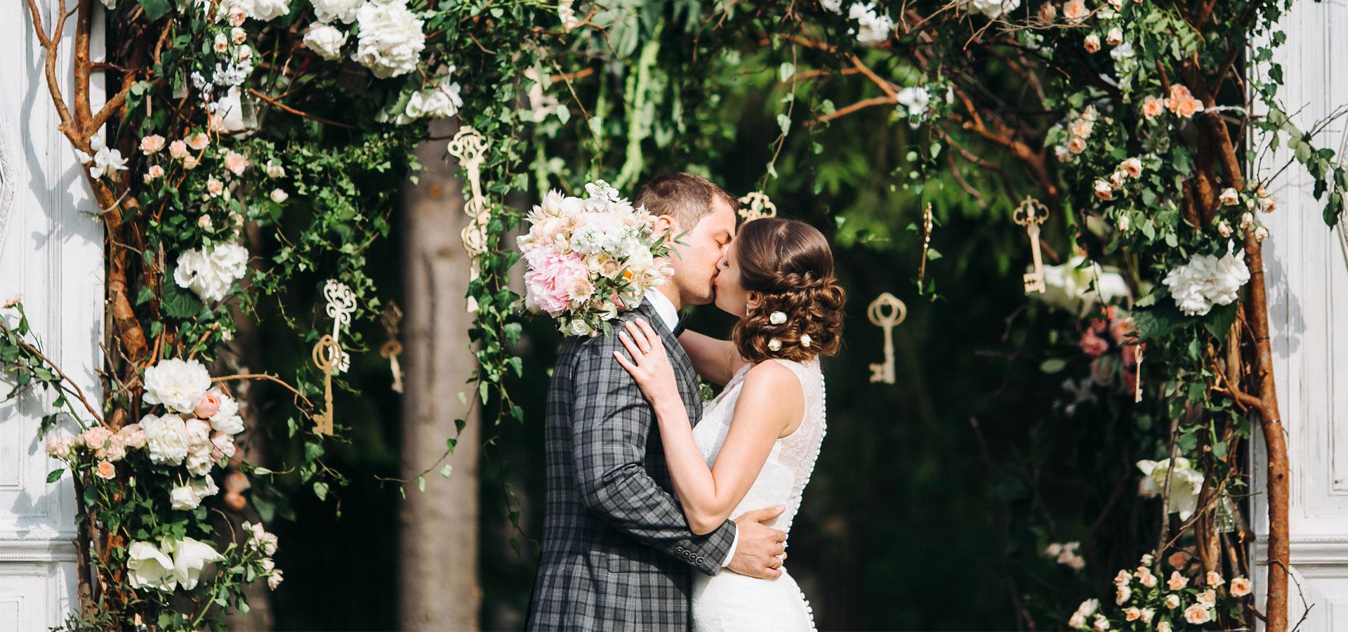 """Весенняя свадьба в стилистике """"сад"""""""